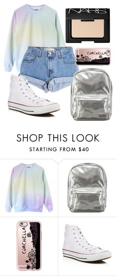 """""""School #3"""" by pipesmclean ❤ liked on Polyvore featuring Levi's, Pantone, Casetify, Converse and NARS Cosmetics"""