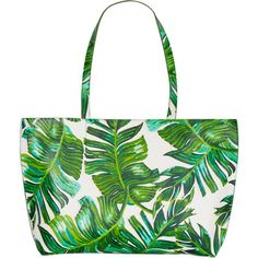 Skinnydip Palm large tote bag (€26) ❤ liked on Polyvore featuring bags, handbags, tote bags, summer totes, holiday tote bags, summer purses, summer handbags and summer tote bags