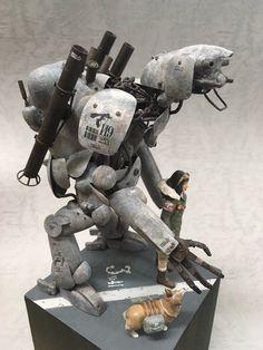 Sci Fi Models, Military Diorama, Sci Fi Characters, Gundam Model, Model Kits, Barbarian, Model Building, Sci Fi Art, Scale Models