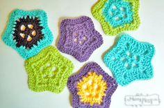 30 Awesome Appliques! A Crochet Applique Roundup | Fiber Flux...Adventures in Stitching | Bloglovin'