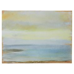 "Found it at Wayfair - ""Marine Sunset"" by Edgar Degas Painting Print on Canvas $34"