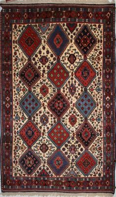 tappeto: yalameh - tappeti persiani nuovi - iran di morandi