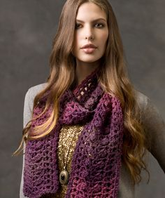 Sophisticated Scarf: free #crochet pattern