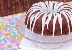 CHOCOLATE ZUCCHINI BUNDT CAKE - El Rincón de Bea