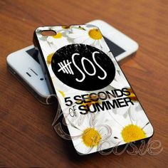 5SOS Sun Flowers for iPhone 4/4s/5/5s/5c - Samsung Galaxy s3i9300/s4i9500 - iPod 4/5 by VANPERSIE on Etsy