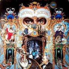 Dangerous LP Michael Jackson