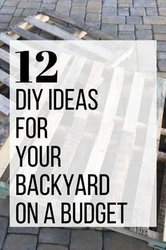 Upgrade your outdoor space with these fun and easy outdoor DIY projects. Learn how to make a fire pit, pallet swing and more with these cheap and simple DIY ideas for your patio or porch. #diy #outdoordiy #backyardprojects Make A Fire Pit, How To Make Fire, Backyard Projects, Outdoor Projects, Outdoor Ideas, Backyard Ideas, Porch Ideas, Outdoor Spaces, Outdoor Living