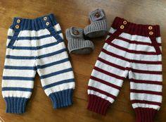 3 Vikings, Harem Pants, Gloves, Wool, Knitting, Children, Crochet, Baby, Fiber Art