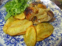 receitinhas da belinha gulosa: Frango assado no forno com molho do churrasco, rec...