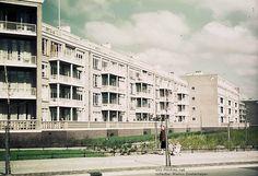 Flats aan de Sportlaan, gezien vanaf de Segbroeklaan