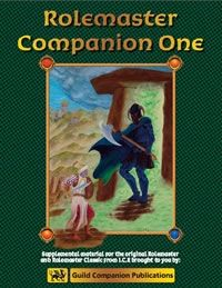 Rolemaster Companion I - By Iron Crown Enterprises.