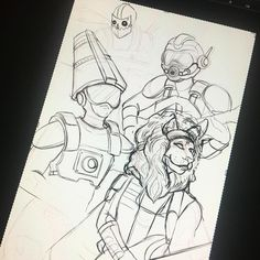 Working on my newest painting of @twrpband  Still can't get over how amazing the concert was! Hopefully one day I can see them preform again and give them the finished painting!  #sketchbook #sketching #sketch #drawing #artistoninstagram #art #artist #twrp #ninjasexparty