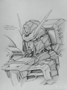 GUNDAM GUY: Awesome Gundam Sketches by VickiDrawing [Updated 7/23/16]