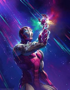 Iron Man with infinity Guantlet Poster Marvel, Marvel Comics, Hero Marvel, Marvel Art, Iron Man Avengers, The Avengers, Iron Men, Iron Man Wallpaper, Marvel Wallpaper