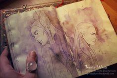 Royal Family of Mirkwood by Kinko-White.deviantart.com on @deviantART