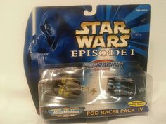 Star Wars Episode I Pod Racer Pack IV Exclusive by MicroMachines #Gallob