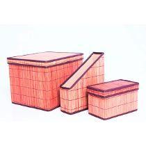 Kit Caixa Organizadora Ubira Bambu