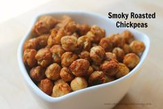 Smoky Roasted Chickpeas ~ Veggie Inspired