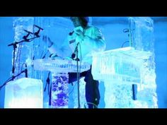 This is totally awesome.  A set of musical instruments made of ice, all hand carved from ice from Sweden.  He then plays them as they melt, causing them to emit different sounds as they change form.  Wicked