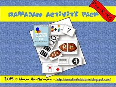 A Muslim Child is Born: Alhamdulillaah: The Ramadan Activity Pack (Prek-KG. Ramadan Activities, Ramadan Crafts, Book Activities, Islam Ramadan, Celebration Around The World, Projects To Try, Packing, Diy Crafts, Muslim