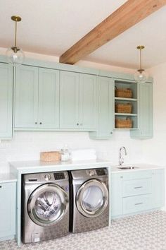 14 Basement Laundry Room ideas for Small Space (Makeovers) 2018 Laundry room organization Small laundry room ideas Laundry room signs Laundry room makeover Farmhouse laundry room Diy laundry room ideas Window Front Loaders Water Heater Blue Laundry Rooms, Laundry Room Tile, Laundry Room Remodel, Farmhouse Laundry Room, Laundry Room Storage, Room Tiles, Small Laundry, Laundry Room Design, Basement Laundry