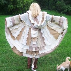Gypsy Sweater Coat Pattern---- tutorial W/ PATTERN Pieces on how to make this elusive beauty----- Elf Hood