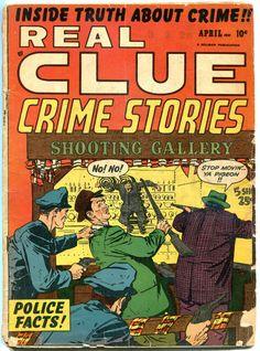 REAL CLUE CRIME STORIES V6 #2, VG-, 1951, Golden Age, Pre-code, more in store Crime Comics, Comic Art, Comic Books, Pre Code, Story Writer, Classic Comics, Golden Age, Detective, Coding