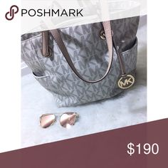 Michael Kors Jet Set Travel Tote Vanilla Michael Kors jet set travel tote . In color vanilla. Retail at $248. Absolute perfect condition . NO TRADES. No offers. Price is firm! 100% authentic Michael Kors Bags Totes