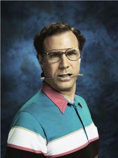 Will Ferrell geek