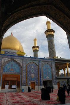 The shrine of Abbas Ibn Ali in Karbala, Iraq