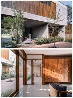 Courtyard House, Modern House Design, Layout, Outdoor Decor, Home Decor, Style, Swag, Decoration Home, Page Layout