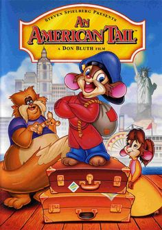 Available in: DVD.The Don Bluth-directed, Steven Spielberg-produced An American Tail, a lighthearted animated look at immigrants, comes to DVD with 18 Movies, Great Movies, Disney Movies, Movies Online, Movie Tv, Kids Movies 2000, Movie Theater, Family Movie Night, Family Movies