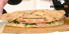 Pizza farcita ricetta Bonci La Prova del Cuoco | Cucina in tv