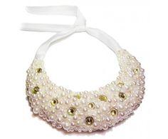 Korálkový náhrdelník perličkový sen