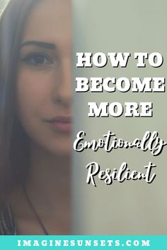 Building emotional resilience has to do with how quickly we bounce back after setbacks, failures, and tragic events. Here's some practical advice you can implement and will help you build up your emotional resilience and be able to better adapt to change, stressful situations, and negative events.