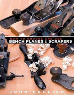 A simple, straightforward shop manual for woodworkers of all skill levels, this reference dispenses with the lore and legend of planes and offers techniques for adding these tools into woodworking reg