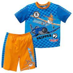 Boys' Disney Planes Pyjamas - Skipper + Dusty Target