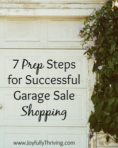 Before you go looking for garage sale bargains, check out these tips to help you make the most of your garage sale shopping.