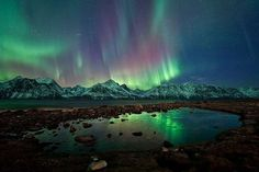The National Geographic Team Captures the Stunning Norway Aurora