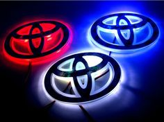 car logo light for Toyota,car badge lightings,auto led light,auto emblem led lamp,car styling Toyota Tacoma Sport, Toyota Cars, Toyota Tundra, Toyota 4runner, Toyota Corolla, 2016 Tacoma, Toyota 86, Toyota Emblem, Tacoma Parts