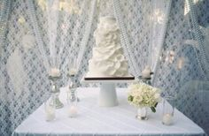 Beautiful cake back drop
