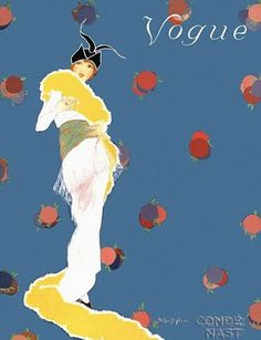 1923-Art Deco Fashion Drawings by Helen Dryden (1887-1981)