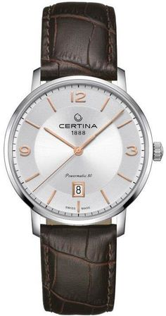 Certina Watch DS Caimano Lady Powermatic 80 Watch available to buy online from with free UK delivery. Luxury Watches, Rolex Watches, Baselworld 2017, Gifts For Photographers, Square Photos, Fitness Gifts, Simple Bags, Latest Jewellery, Laptop Bag
