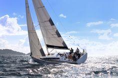 Dehler_38_sailing