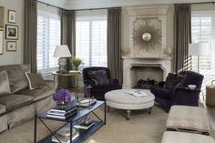 Family Room by Wendy Labrum Interiors, LLC. #wendylabruminteriors #practicalstyle #tangibledesign