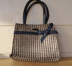 Purse Longaberger Homestead Plaid Tote by JudysJunktion on Etsy, $15.00