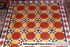 AthangudiTiles.Com - Athangudi Tiles - Tile Designs Room Wall Tiles, Indian Crafts, Tile Design, Diy Painting, Wood Crafts, Home Decor, House, Decoration Home, Room Decor