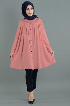 - Pileli Tunik 9480-11 Girls Dresses Sewing, Stylish Dresses For Girls, Stylish Dress Designs, Casual Dresses, Frock Fashion, Batik Fashion, Hijab Fashion, Simple Pakistani Dresses, Pakistani Dress Design