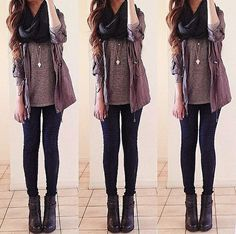 """Click the image for 100+ inspirations to become the most outstanding fashion diva wearing the best fall outfits. Let me help you out.☺ """"People will stare, make it worth their while"""". ♥"""