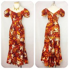 Vintage 1950s Brown Label Shaheen Hawaiian Mermaid by hipsmcgee, $150.00